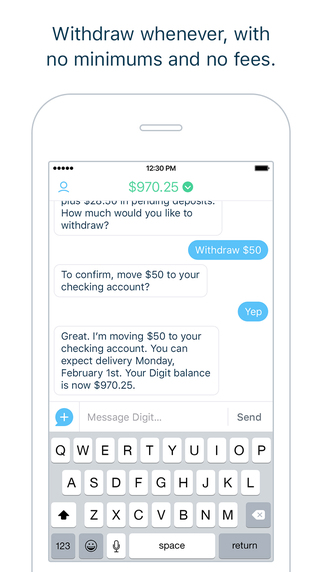 Digit for iOS