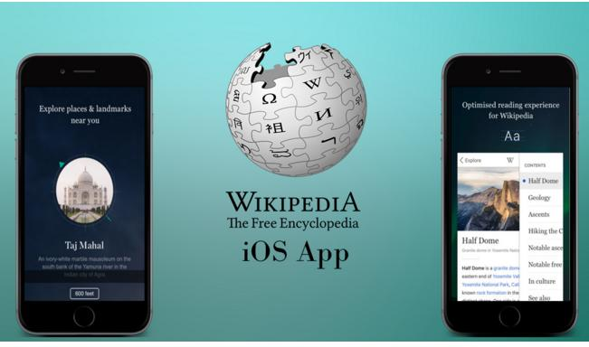 Wikipedia for iOS