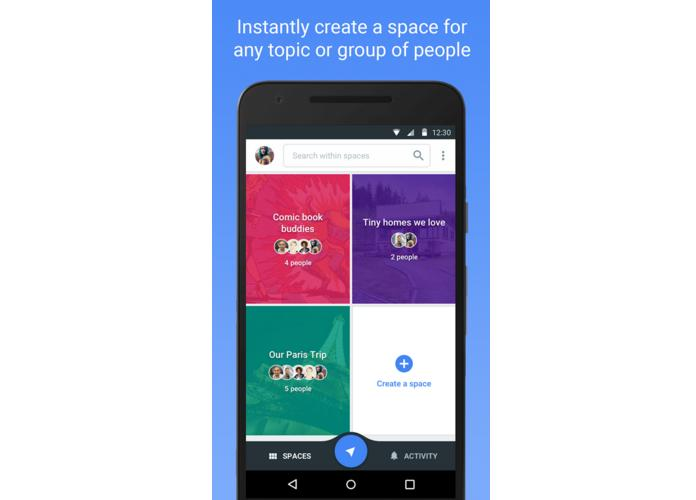Spaces for Android