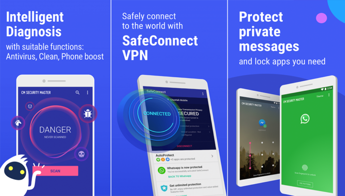 CM Security Master Antivirus for Androids : Review