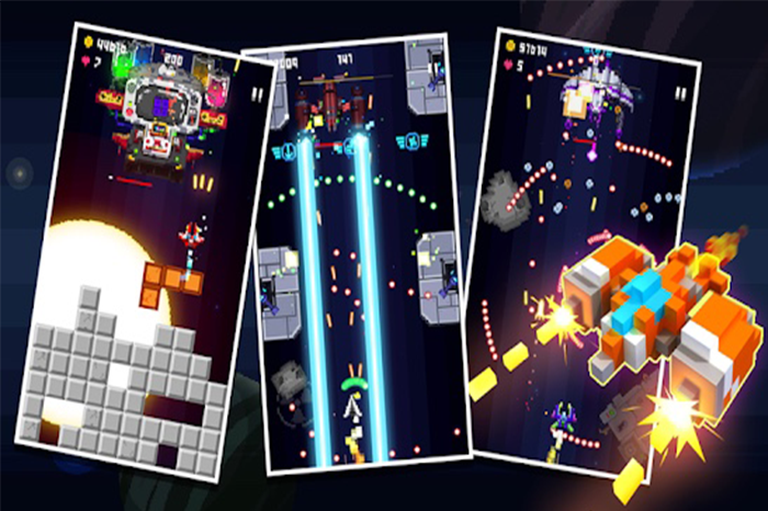 Space War – 2D Pixel Retro Shooter