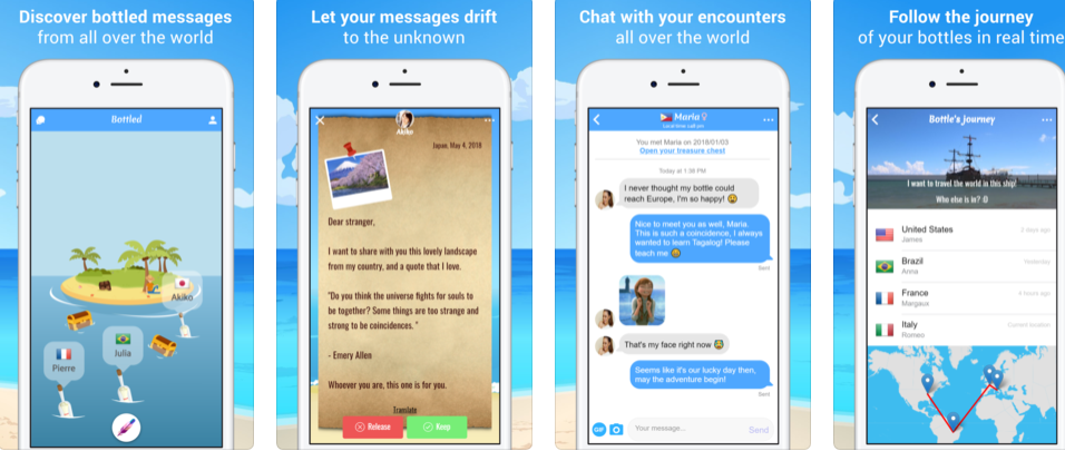 Bottled- Message in a Bottle App Verdict