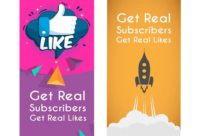 Real Subscribers & Likes for YouTube