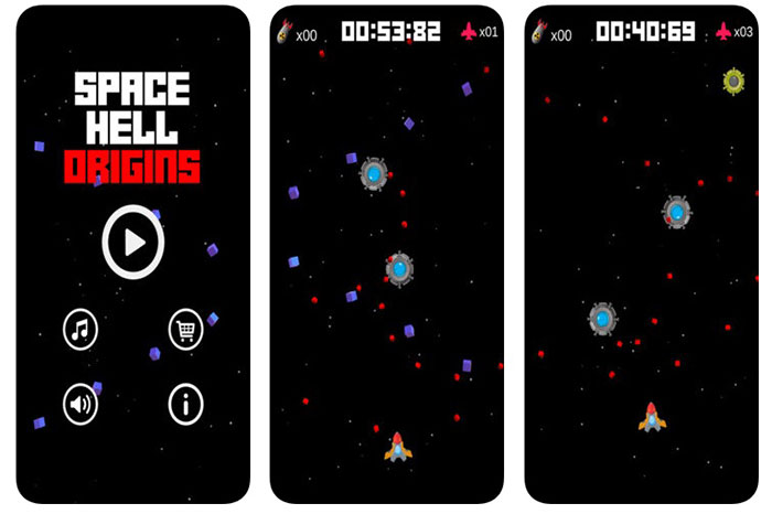 Space Hell Origins: Alien Shooter & Space Defender