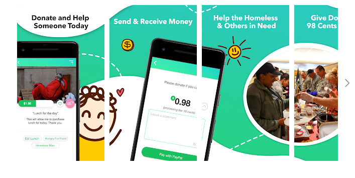 Raise funds & donate to charitable causes directly with 98 Cents!