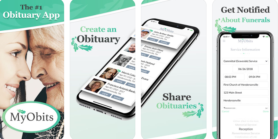 MyObits is the modern, cost effective way to submit obituaries