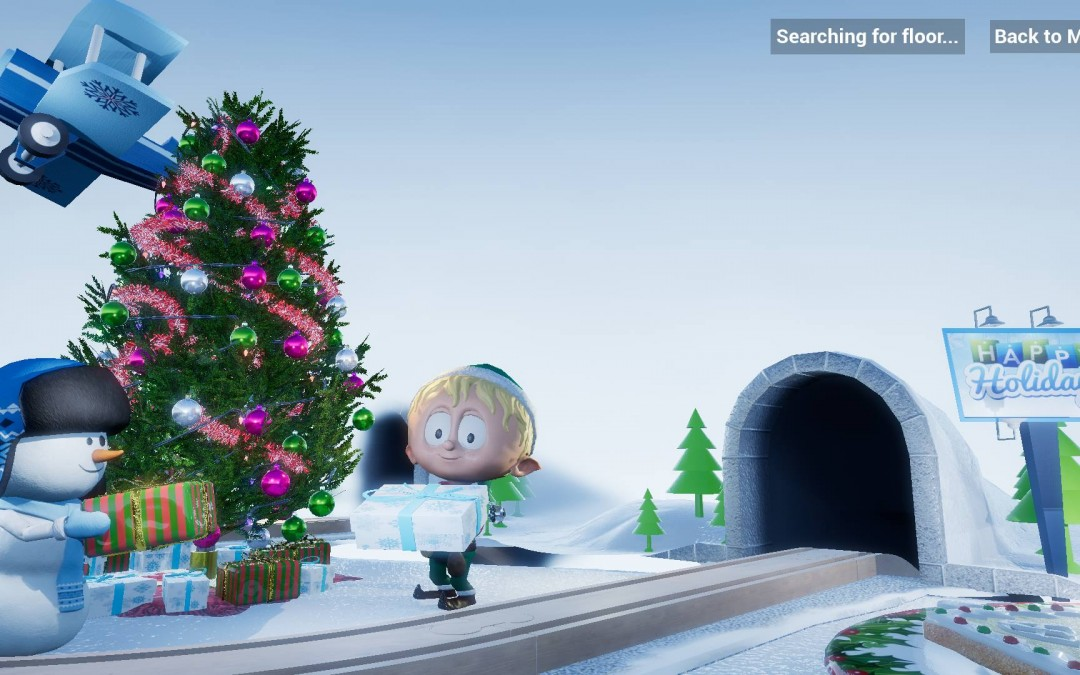 Ollie the AR Elf is a good Christmas cheer app
