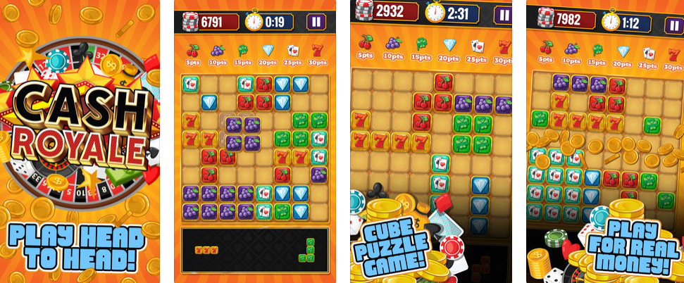 CASH ROYALE- AN EXCITING BLOCK PUZZLE GAME