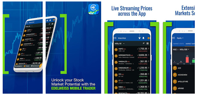 Edelweiss Mobile Trader – The Top-Notch App In Stock Market
