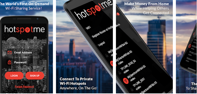 Get Wi-Fi Anywhere with the HotSpotMe App
