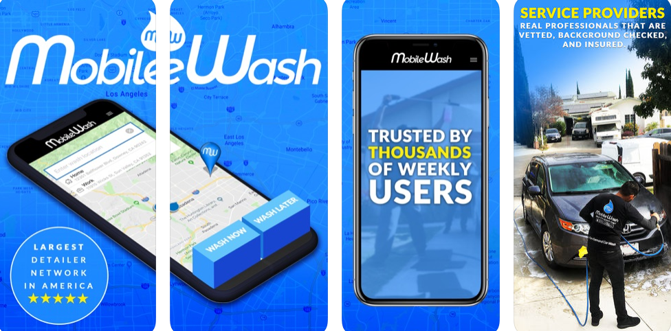 Mobile Wash – The Unique App That Brings Car Wash To Your Doorstep
