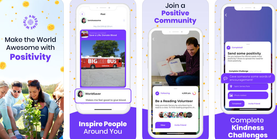Spread positivity & kindness with this new social media app