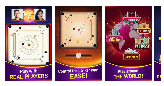 Carrom Stars: The Online 3D Game of Carrom