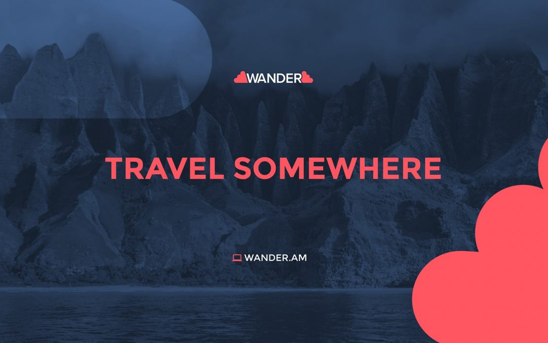 WANDER- TRAVEL CAREFREE!