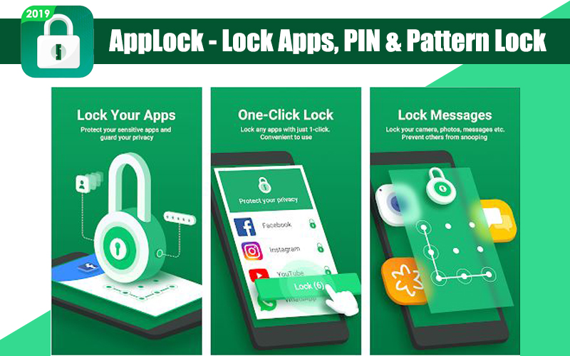 AppLock – Lock Apps, PIN & Pattern Lock