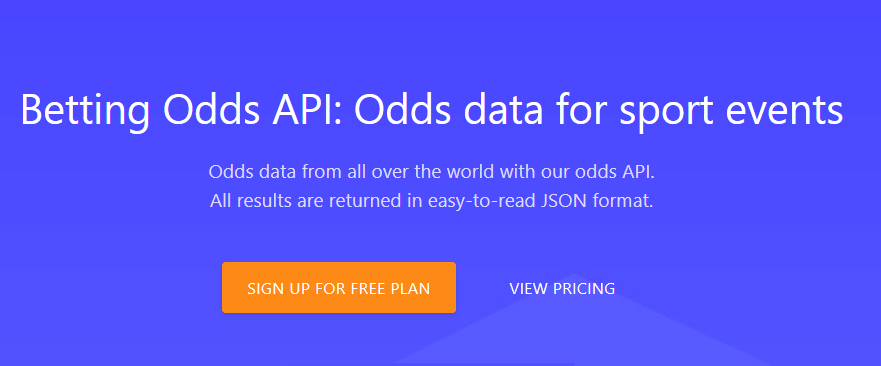 Get Data For Many Sport With Odds API