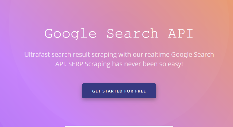 Serpproxy – The Complete API to Access Google Search Results