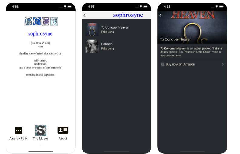 Sophrosyne – The Perfect Book App for Mystery Lovers