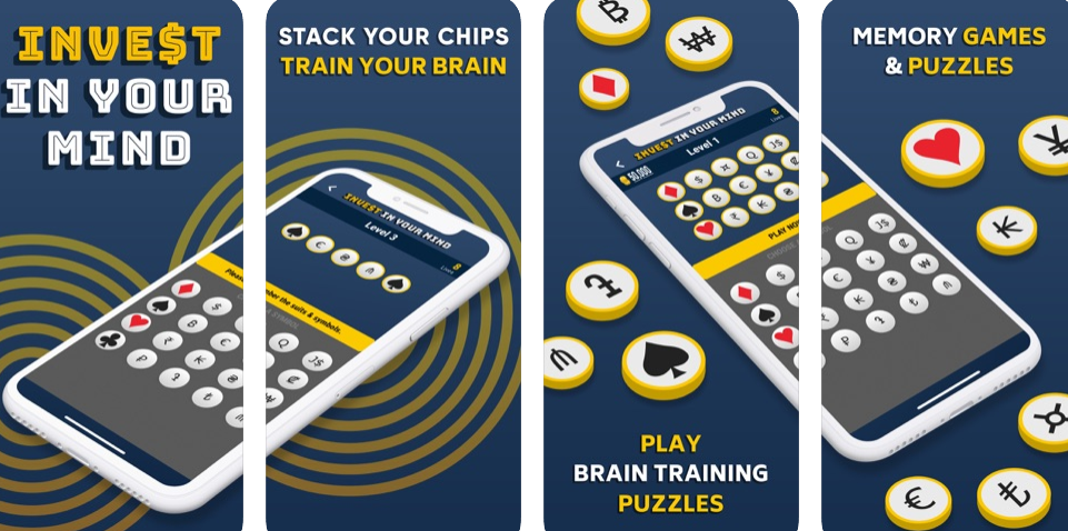 A brain training game with head to heads and tournaments.