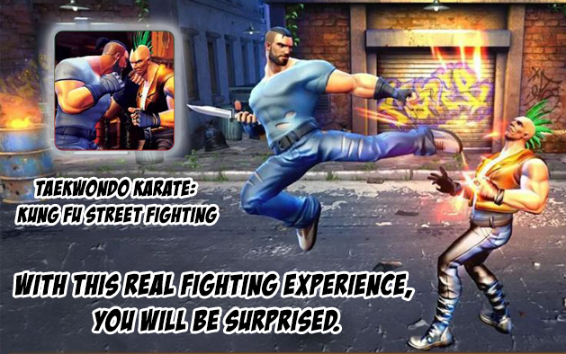 Taekwondo Karate: Kung Fu Street Fighting