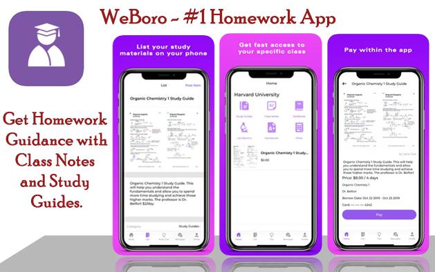 WeBoro – #1 Homework App