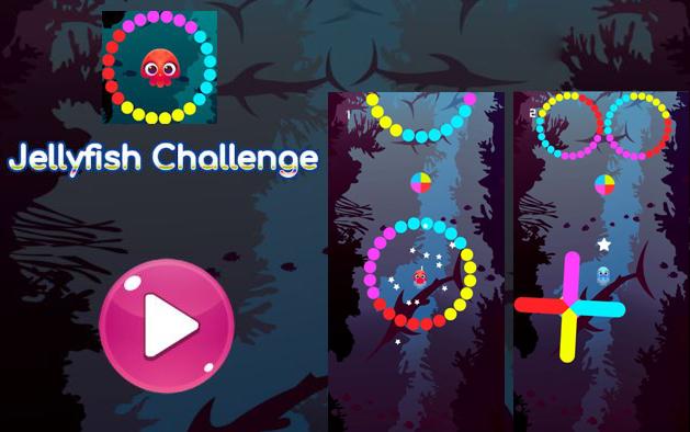 Jellyfish Challenge Underwater