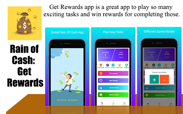 Rain of Cash: Get Rewards