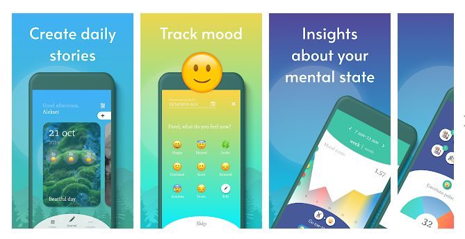 Gather Insights about Your Mood and Passion with Daily Journal App and Guided Diary