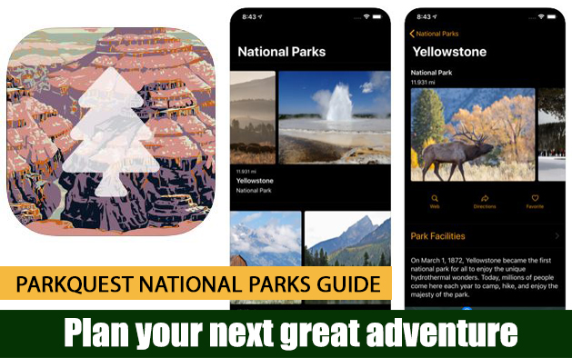 ParkQuest National Parks Guide
