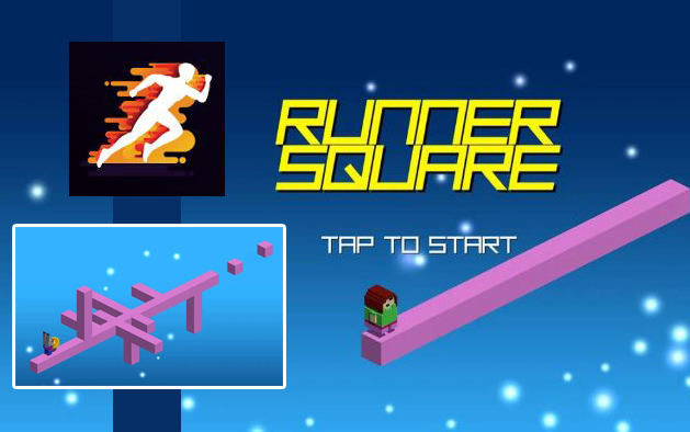 RUNNER SQUARE – Easy Play Funny Game 2020