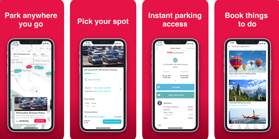 Having Trouble Finding Parking Lots? Try 'Way' App