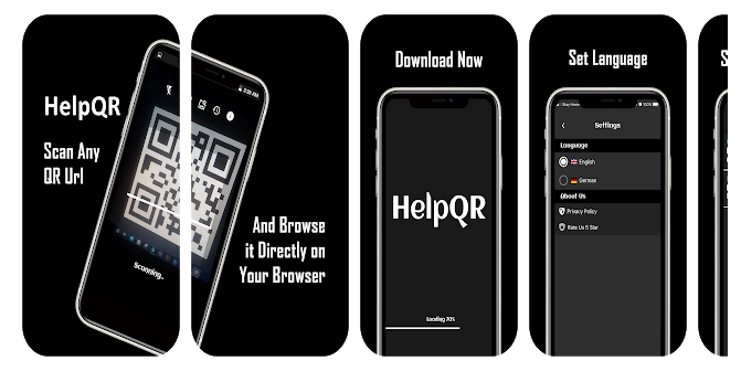 HelpQR – The Ultimate QR Scan and Browse App